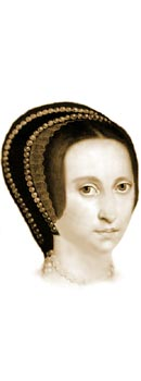 Boleyn Anne - Biography, picture and poems, death and execution